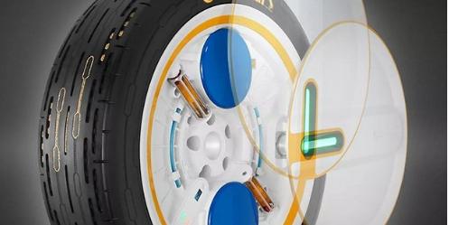Lốp xe tự bơm hơi - một phát minh mới của nhà cung cấp săm lốp Continental dành cho những chiếc xe tương lai