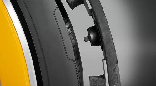 Hệ thống mà Continental gọi là 'Áp suất', đảm bảo áp suất lốp luôn ở mức lý tưởng nhất