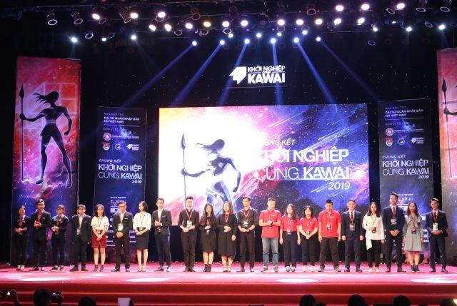 TOP 5 dự án tham gia Chung kết Khởi nghiệp cùng Kawai 2019.