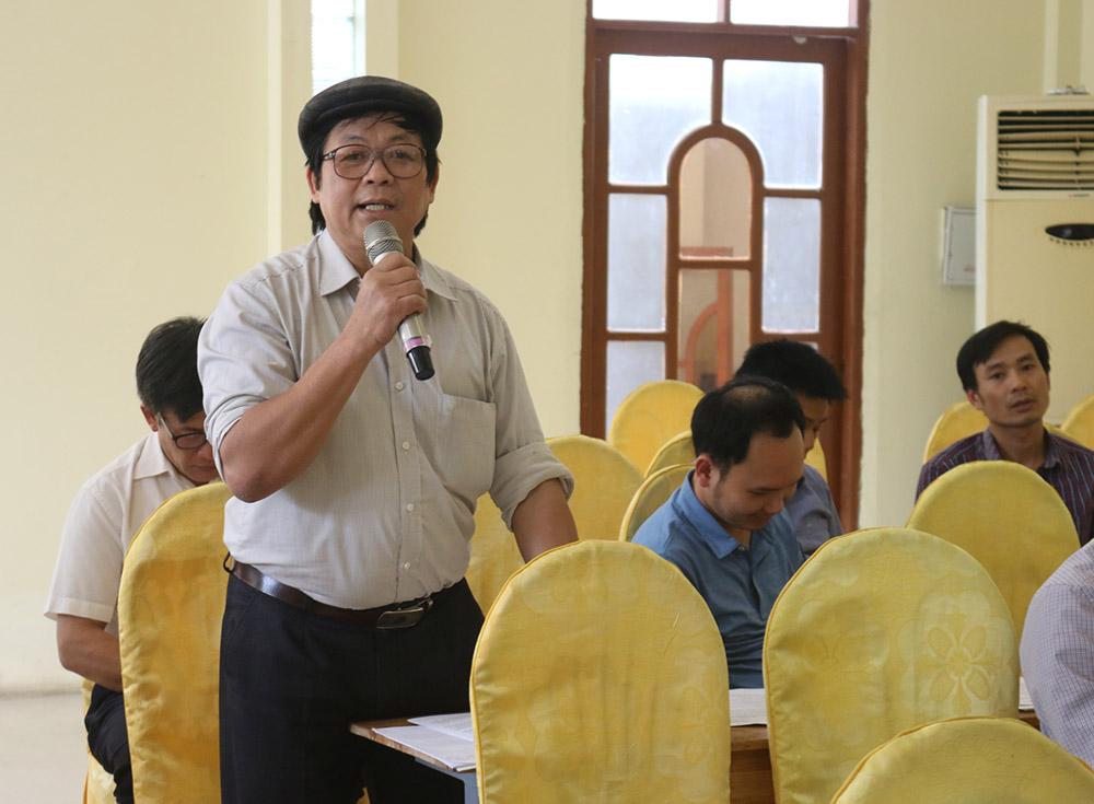 Khởi nghiệp ở TT GDNN-GDTX sẽ gặp nhiều khó khăn - Ông Đỗ Hùng Nhương, Giám đốc TT GDNN-GDTX chia sẻ