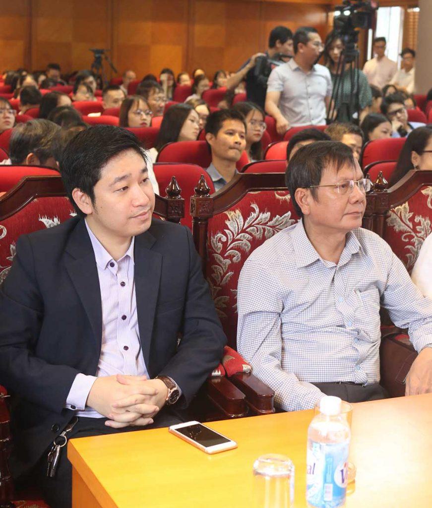 CEO - Tổng giám đốc Novaedu Đỗ Mạnh Hùng tham dự lễ phát động